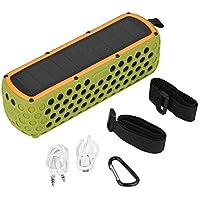 Zerone Altavoz Bluetooth, Sonido estéreo del Altavoz Bluetooth inalámbrico a Prueba de Agua para Ciclismo Senderismo Natación Deportes al Aire Libre