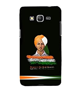 printtech Bhagat Singh Indian Back Case Cover for Samsung Galaxy Grand Prime G530h
