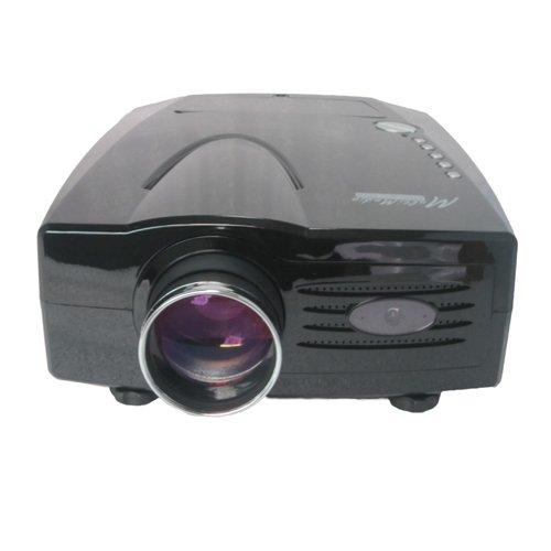 LightInTheBox ouku xP528 lCD/lED wXGA projecteur (home cinéma 3D via hDMI, wXGA 1280 x 800 px - 1800–aNSI lumen, contraste :  8 00:1, vGA (noir)