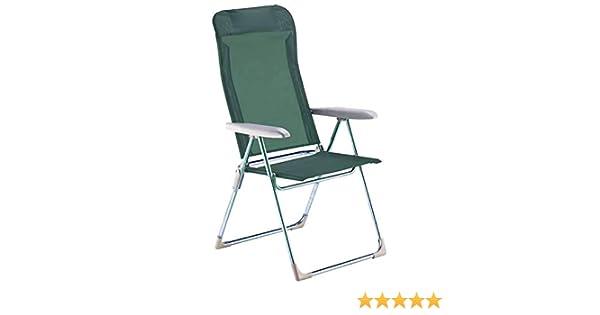 FIAM Green Playa Chair Frame Aluminium Textile