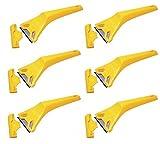 6 Stanley Window Scraper 0-28-590 Decorators Glass Paint Remover Scrapers 028590