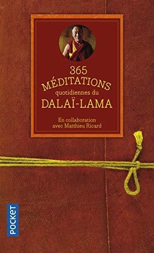 365 méditations quotidiennes du Dalaï-Lama par Sa Sainteté le DALAI-LAMA