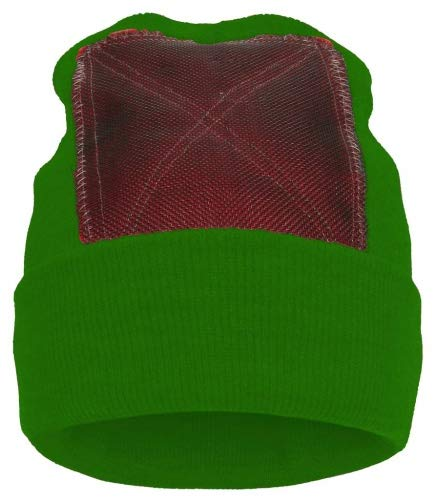BACKSPIN FUNCTION WEAR 'Beanie' Headspin-Cap - kelly - OneSize