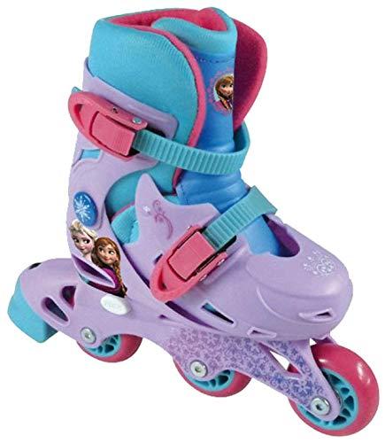 Disney Kinder Skating Frozen Evolution 2 In 1 Tri Inline Rollschuhe 27-30