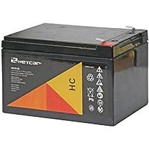 Moma - Batería Pb sellada 12V 12Ah para patinetes, motos, alarmas, iluminación, SAI, …