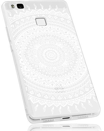mumbi Schutzhülle Huawei P9 Lite Hülle im Mandala Design -