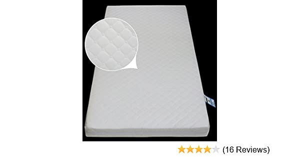 Crib Mattresses Baby Toddler Cot Bed Breathable Quilted Foam Mattress 160 X 60 X 13 Cm