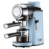 QSM Manuelle Espresso-Dampf- Und Pumpkaffeemaschine, 800 W, Hellblau,Blau,A