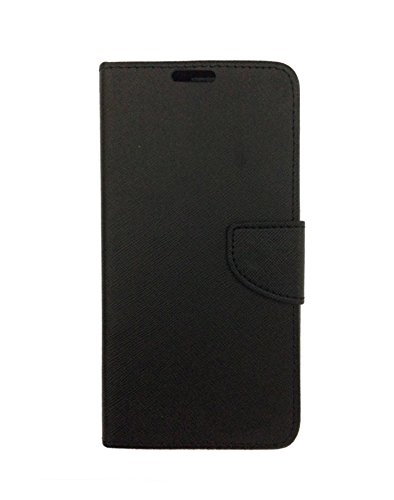 Fabson Flip Cover for Micromax Canvas Spark 2 Plus (Q350) Flip Cover Case - Black