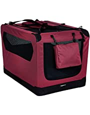 AmazonBasics Premium Folding Portable Soft Pet Crate - 36in