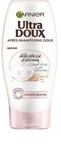 Garnier Ultra DOUX Délicatesse d'Avoine Après Shampooing Doux Cheveux Fins et Délicats