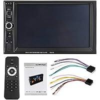 "Gugutogo 7653TM 7"" estéreo MP3 MP5 HD 2DIN Bluetooth retroiluminación táctil de coches de radio FM con espejo-Link Apoyo TF Función AUX gris negro"