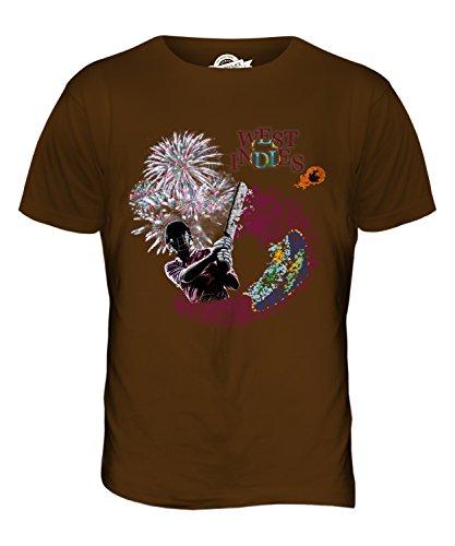 CandyMix Westindische Inseln Cricket Herren T Shirt Braun