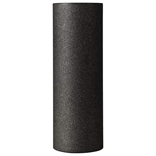 BODYMATE Faszienrolle Standard Mittel-Hart mit Gratis E-Book - Schwarz 45x15cm