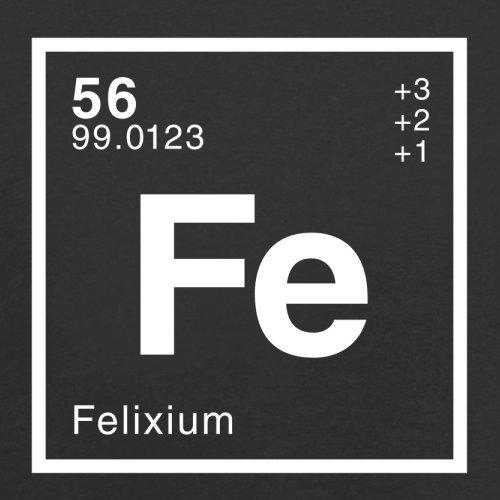 Felix Periodensystem - Herren T-Shirt - 13 Farben Schwarz