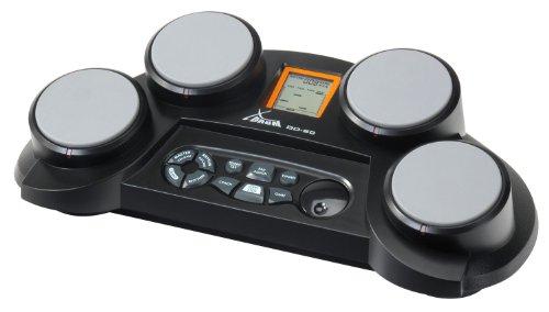 elektronisches schlagzeug fuer anfaenger XDrum Session DD-60 E-Drum/Percussion Pad (70 Sounds, 50 Rhythmen,  4 anschlagdynamische Pads, Drumsticks, schwarz)