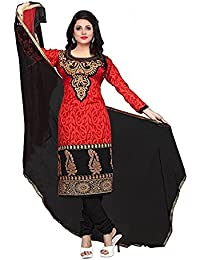 Rangrasiya Women's Poly Cotton Unstitched Salwar Suits/Dress Materials