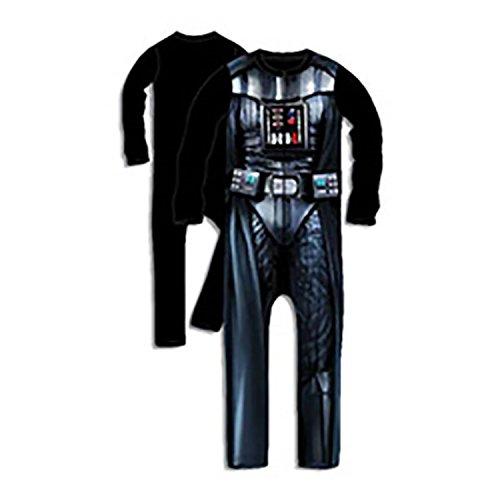 Offiziell lizenziert von Star Wars Darth Vader, Dress Up Onsie (Nr. Helm oder ()