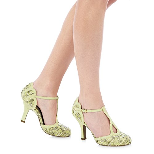 Ruby Shoo , Mary Janes pour femme Citron