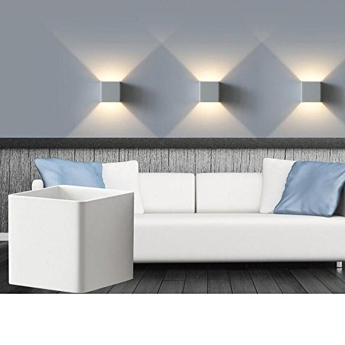 Lightess 5W LED Up Down Wall Light Living Room Lights Wall Lamp ...