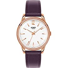 Henry London HL39-SS-0086 Reloj de Mujer (Reacondicionado Certificado)
