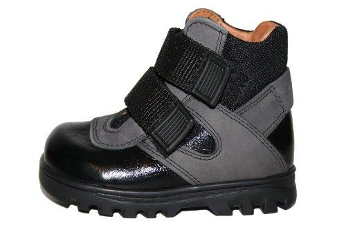 Bundgaard BU-641 Unisex - Kinder Schuhe Stiefeletten Schwarz (Black/Grey)
