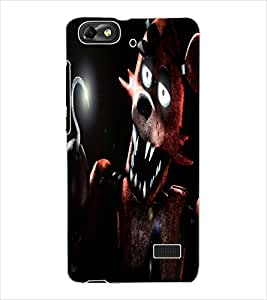 ColourCraft Shell Design Back Case Cover for HUAWEI G PLAY MINI