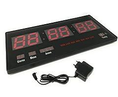 Idea Regalo - tempo di saldi Orologio Digitale A Led Da Parete Con Datario E Termostato Slim Data Temperatura