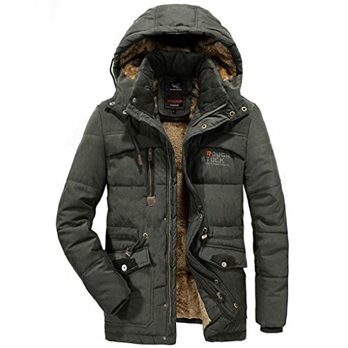 59274409a3c7 Luckycat Herren Winter Samt verdickt Plus Größe gepolsterte Winddichte  warme Baumwolle gepolsterten Mantel Mode 2018