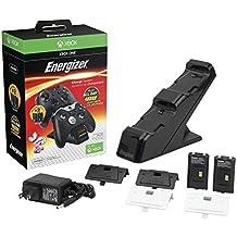Energizer Chargeur de batterie avec 2 batteries pour Xbox One - noir