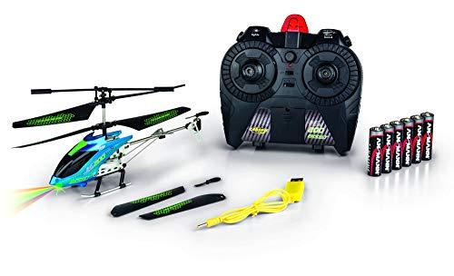 CARSON 500507132 - Easy Tyrann 200 Boost IR 100{2aba5046fa29731440bb9738edb27013f25006e22ecb8897a3981c1988f49c05} RTF, Ferngesteuerte Flugmodelle, Flugfertiges Modell, RC Helikopter, inkl. Batterien und Fernsteuerung, 100{2aba5046fa29731440bb9738edb27013f25006e22ecb8897a3981c1988f49c05} flugfertig