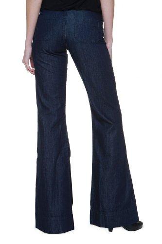 True Religion Jeans Flare SANDRA SAILOR TROUSER, donna, Colore: Blu Scuro, Taglia: 24