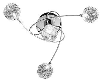 Wofi 9360.04.01.0000 - Lampadario a sospensione a 4 luci, ? 52 cm ...