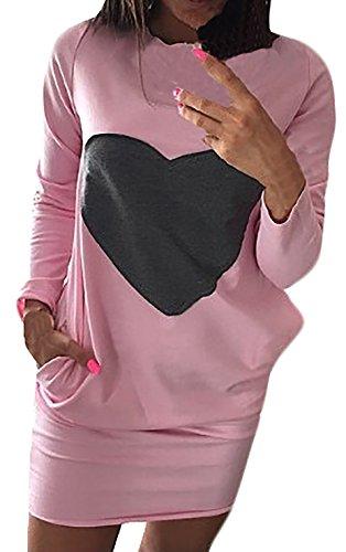 COCO clothing Frühjahr Herbst Ripped Pullover Damen Freizeit