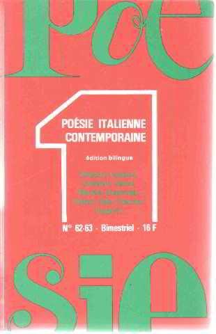 Poésie 1 n° 62-63 - décembre 1978-février 1979 - Poésie d'occasion  Livré partout en Belgique