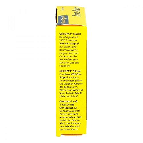 Ohropax Test-box 3 Sorten Ohrstöpsel 3X2 stk - 4