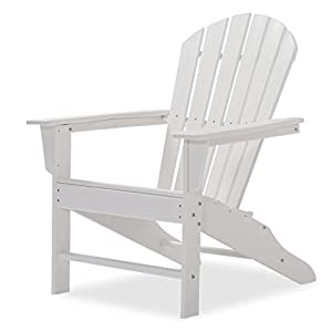 Original Dream-Chairs since 2007 Adirondack Chair All Seasons aus Kunststoff (Weiß)