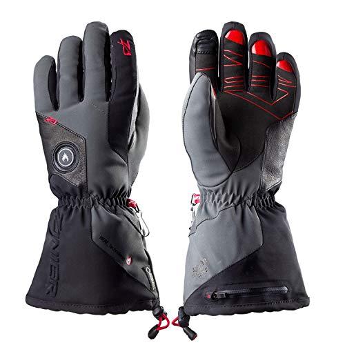 Zanier Aviator. GTX UX Lithium-Akku Beheizte Handschuh, schwarz, Medium, Unisex, 28033, Schwarz, XL