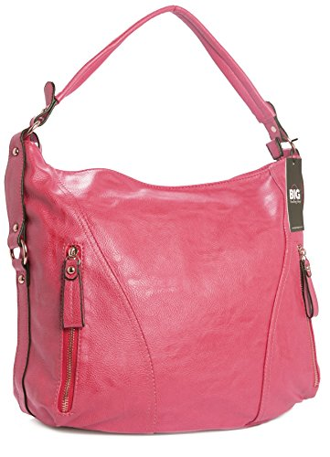 Big Handbag Shop - Borse a spalla donna (Corallo)