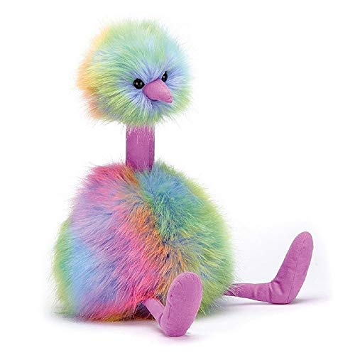 Jelly Cat- Pompom Rainbow Peluche pequeño, (JELLYCAT FBA_PPM2R)