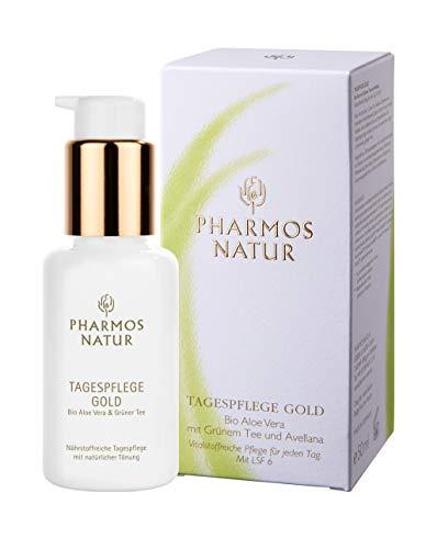 Pharmos Natur Gesichtspflege Individualpflege Tagespflege Gold 50 ml
