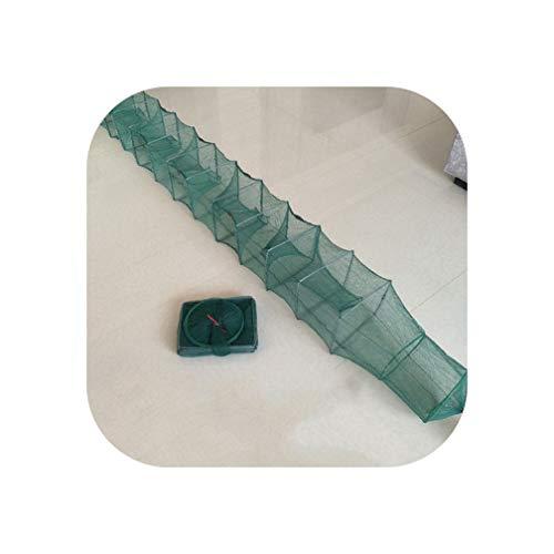 Limier Aurora Fischnetz, Folding Round Metallrahmen Nylon-Mesh-Krabbe-Garnele-Köder-Trap-Cast Fisch Landing-Gerät, 2.8M -