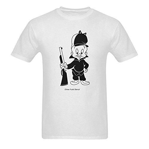 mens-elmer-fudd-short-sleeve-t-shirts