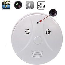Mengshen® HD 1080p IP de WiFi de la cámara niñera leva ocultada DVR Detección de humo detector de movimiento + Control Remoto de MS-WH09