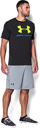 Under Armour Cc Sportstyle Logo Herren Fitness - T-Shirts Blk/Blj/Hvy