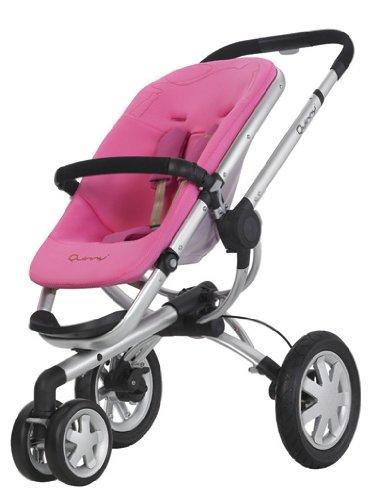 Quinny 60303020 - Buzz 3 roller pink, inklusiv Sonnen- und Regenverdeck, Buzz-Box und Adapter für die Maxi-Cosi Babyschale