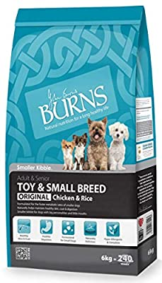 Burns Small/Toy Breed Chicken Adult Dry Dog Food - Various Sizes by Burns