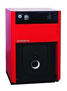 Chaudière au sol chauffage seul AMBIANCE 4100 Acier Fioul / GN 25 kw Mod. 4125 Réf 026473