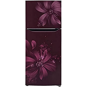 LG 260 L 3 Star Frost-Free Double-Door Refrigerator (GL-Q292SSAY, Scarlet Aster)