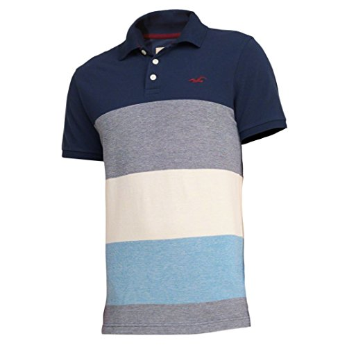 hollister-herren-patterned-tipped-pique-polo-poloshirt-polohemd-shirt-grosse-x-large-navy-gestreift-